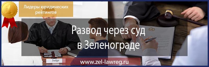 Развод через суд в Зеленограде